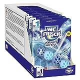 WC-Frisch Kraft Aktiv Duftspüler Frische Brise, WC-Reiniger, 10 Stück, mit Lufterfrischer Effekt für einen intensiven Duft