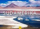 Edition Seidel & Stefan Becker Südamerika Premium Kalender 2022 DIN A3 Wandkalender Argentinien Brasilien Bolivien Equador Peru Pazifischer Ozean Küste Meer Urlaub