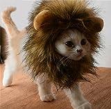 Bello Luna Süße Löwenkostüm, Löwenmähne mit Ohren für Katzen, Kleine Hunde Oder Welpen, für Halloween, Partys, Feste-Größe Passend für Haustiere mit Einem Halsumfang von 26 bis 30