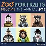Zoo Portraits 2018: Ein lustiger Tierkalender von teNeues