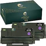 EMBRIIO 407166 2er Set Kompatibel Toner Ersatz für Ricoh SP100 SP112 SP100e SP100SF SP100SFe SP100SU SP100SUe SP110 SP112e SP112SF SP112SFe SP112SU SP112SUe