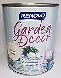 2,5 Liter RENOVO garden decor,'Cloud White' halbdeckende Lasur