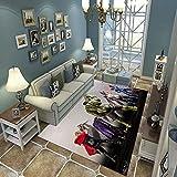 Weicher Teppich,Dekorativer Teppiche Im Modernen Stil, Kinder Kriechen Decke, 3D-Druck Lustige Kreativität Kunst Bodenmatte, 80(H)X150(W)Cm, Kinderteppichmatte Baby Wohnzimmer S