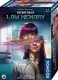 Kosmos 695156 Escape Tales - Low-Memory, Löst die Rätsel. Erlebt die Geschichte, Escape-Room-Spiel, spannendes Gesellschaftsspiel ab 18 Jahre, für 1 - 4 Personen, mehrfach spielb