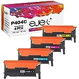 ejet Kompatibel Tonerkartusche als Ersatz für Samsung CLT-P404C CLT-K404S CLT-C404S CLT-M404S CLT-Y404S Xpress SL C480W C480FW C430W C480 C430 C480FN (Schwarz,Cyan,Gelb,Magenta, 4er-Pack)