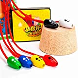 Dan&Dre Holz Maus Fangspiel Katze Fang Maus Desktop Spiel Kreative Kinder Interaktives Holzspielzeug