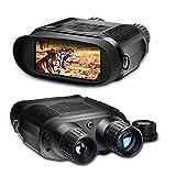 SOLOMARK Nachtsichtfernglas, 7X digitales Infrarotfernglas für 100% Dunkelheit - 1280x720p Kamera-Videorecorder - 4-Zoll-Großbildschirm und 400 m Betrachtungsbereich (NV400)
