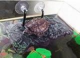 BigTron Felsformation, höhle Aquarium PU-Schaum-Aquarium-Floss-Dekoration aalen Sich Terrasse, Willdo Klettern Sie brasilianische Schildkröten-Schildkröte-Dock-aalen Plattform