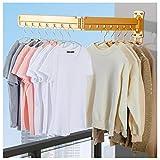 LTLWSH Wand Kleiderständer Klappbar 360° Kleiderlüfter Kleiderhaken für Wand, Platzsparender Wandwäschetrockner zur Wandmontage, für Balkon, Schlamm, Schlafzimmer, Poolbereich und Wäsche