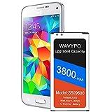 Galaxy S5 Akku, 2021 verbesserter 3800 mAh Li-Polymer akku für Samsung Galaxy S5 G900A AT&T, SM-G900V, G900F, G900H, G900R4, I9600, SM-G900P, SM-G900T