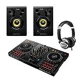 Pioneer DDJ400 2Ch DJ-Controller mit Monitoren und Kopfhö