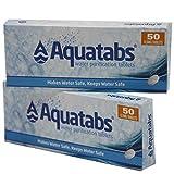 Wasserreinigungstabletten AQUATABS 100 Tabletten von BCB