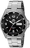 Orient FAA02001B9 Mako II Herren-Armbanduhr, analog, Automatik, von Hand aufziehen, Silber
