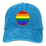 Love is Love Regenbogen Unisex Hut LGBT Gay Lesben Baseball Cap Einstellbare Sonnenhut