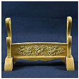 Electric oven Schwertständer, Holz Montagebasis Samurai Schwert Wakizashi Tanto Ständerhalter Display Kleiderbügel Waffenhalter Schwertständer