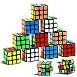 Party Puzzle Spielzeug, 12 Pack Mini Würfel Set Party Favors Cube Puzzle,1.18 'Puzzle Magic Cube umweltfreundliche Safe Material mit lebendigen Farbe, Party Puzzle Spiel für Jungen Mädchen Kinder