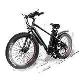 KS26 750W Elektrofahrrad, 26 Zoll Mountainbike ebike, mit 48V 20Ah Lithium-Akku, Hochfestem Stoßdämpfung
