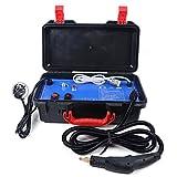 YiWon Hochtemperatur Dampfreiniger Haushalt Reinigungsmaschine Handdampfreiniger Hochtemperatur Öl Staub Entfernen Removal Kit Tragbar 220V 3000W