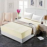 NTtie Matratzenschoner  Auflage zum Schutz der Matratze Hotel Einteilige Dicke Baumwolldecke