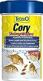 Tetra Cory ShrimpWafers (Hauptfutter für am Boden fressende Fische mit 10 % Shrimps) 100
