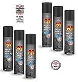 ILODA 6X 400ml Dr. Wack A1 Polster-/Alcantara Reiniger Pro, Polsterreiniger für Autositze, Kfz Sitzreiniger, Polsterschaum, Flecken und Gerüche aus Polstern entfernen