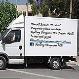 Jsnzff Vinyl Nicht verblassen wasserdicht Aufkleber Kunst Tapete benutzerdefinierte Werbeplakat Aufkleber Auto oder Shop Dekoration 50x59cm