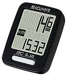 Sigma Sport Sigma BC 5.16 Fahrradcomputer, Schwarz, One size