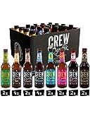 CREW REPUBLIC® Craft Bier Mix Probierset | World Beer Awards Gewinner 2020 | Ideales Geschenk für Männer und Bierliebhaber | Bierspezialitäten aus Bayern nach deutschem Reinheitsgebot (20 x 0,33l)