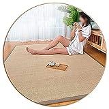 ALGFree-Teppiche Wohnzimmer Läufer Bambusmatte, Wohnzimmer Bodenmatte, Schlafzimmer Gang Erkerfenster Meditationsfaser Area Rug, 1,5cm Dick, (Color : A, Size : 150×200cm)