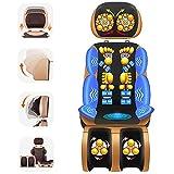 FYHpet Shiatsu Massageauflage Wärmefunktion Massage Stuhl Hause Pad Relief Zervikale Neck Taille Schulter Körper Schmerzen Massager Kissen Geburtstag Geschenk für Ältere