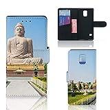 Handytasche für Samsung Galaxy S5 | S5 Neo Book Style Cover Buddha