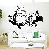 Wandtattoo Wohnzimmer Japanische Cartoon Totoro Wandtattoo Mein Nachbar Totoro Wandaufkleber Für Kinderzimmer Kindergarten