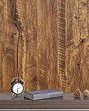 Klebefolie Braun Holz Eiche Selbstklebende Wasserdicht Wandtapete Braun Holzmaserung 45cm X 300cm Natur Holzoptik Wandverkleidung Wasserdicht für Zimmer Schrank Wand Küchen Tisch Vinyl F