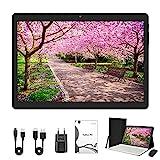 Tablet PC Android 10.0-Tablet PC 10 Zoll 64 GB/ROM, 4 GB/RAM, Dual-SIM-Karte, WLAN, Unterstützung für Bluetooth | Maus | Tastatur | Tablet-Hülle (schwarz)
