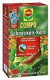COMPO Schnecken-Korn, Streugranulat gegen Nacktschnecken im Vorteilspack, 4x250 g (4x416 m²)