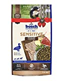 bosch HPC Sensitive Ente & Kartoffel   Hundetrockenfutter für ernährungssensible Hunde aller Rassen   1 x 3 kg