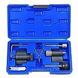 Highking Tool 7tlg Zahnriemen Wechsel Werkzeug Set Einstellwerkzeug Nockwellenw Arretierwerkzeug SDI TDI 1.2, 1.4, 1.6, 1.9, 2.0