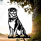 Snakell Metall Hundestahl Silhouette Dekoration,Outdoor Metall Und Stahl Silhouette Stahl Garten Terrasse Patio Dekoration Metall Tier Silhouette Kunst
