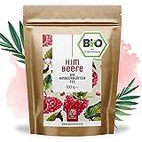 Himbeerblättertee Bio I 100 Gramm I 100% BIO, natürlich und vegan I Himbeerblätter Tee Schwangerschaft ohne Zucker Zusatz I Red Raspberry Leaf Tea von NATURTREU