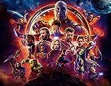 Avengers Fototapete Benutzerdefinierte 3D-Tapete Wand Hulk Iron Man Captain America Wandbild Junge Schlafzimmer Wohnzimmer Designer
