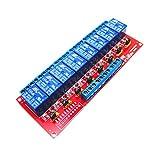 8 Kanal Relaismodul Relaiskarte Raspberry Pi Arduino Zubehör, geeignet für Elektrische Geräte Steuerung