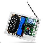 PEMENOL FM-Radio Löt Bausatz 87.5-108Mhz DIY-Bausätze Kreative Elektronische Kits Funkempfänger Elektronik FM Digital mit Kopfhörerbuchse für Das Löten Lehren und Lehren…