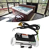 Lantro JS Badheizung, Bad-Thermostat-Whirlpool-Heizung, für Whirlpool- und Kaltwasser-Whirlpools Unterirdischer Kleiner Pool und Badewannen-Wasserzirkulations-Spa über dem BodenPool