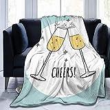 Throw Blanket Toast Pattern Ultra-Soft Micro Fleece Blanketow Super Soft Gemütliche Bettdecke für Bett Sofa Couch Wohnzimmer Strand Picknick Herbst Frühling Winter Useow Decke