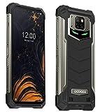 DOOGEE S88 Plus(8GB+128GB) 10000mAh Akku Outdoor Smartphone Ohne Vertrag, 48MP Quad-Kamera, Octa-Core Android 10, 6,3'' FHD+ Corning Gorilla-Glas, Drahtlose Rückladung, IP68 Robustes Handy Schwarz
