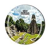 Guatemala Tikal Kühlschrankmagnet für Kühlschrank, Souvenir, Geschenk, Kristall-Magnet-Sticker-Kollektion