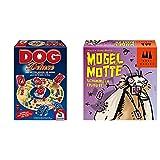 Schmidt Spiele 49274 Dog Deluxe & 40862 Mogel Motte, DREI Magier Kartensp