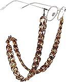 ASDF Wild Leopard Eyeglasse Chain Personalisierte Leseglashalterung für Damen Lange Halskette Modeaccessoires
