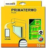 Schellenberg 66324 Dichtung Plus, Primatermo, 9 x 4 mm, 10 m Lang, Abdichtung von Spalten an Fenstern und Tü