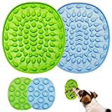 DILISHIOZ Dog Licking pad, Licking pad Dog and cat Bathing ,Dog cat Bath Shower Training Distraction Toy Bath Lick mat for Cats and Dog with super Suction Slow Feeder